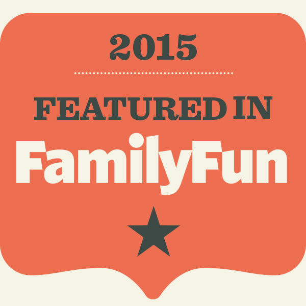 Featured in Family Fun magazine 2015 - farm stay vacation