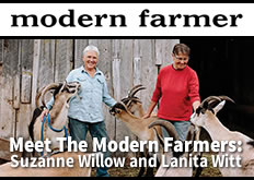 Modern Farmer Magazine - Meet the Modern Farmers: Suzanne Willow and Lanita Witt