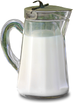 fresh raw organic goat milk