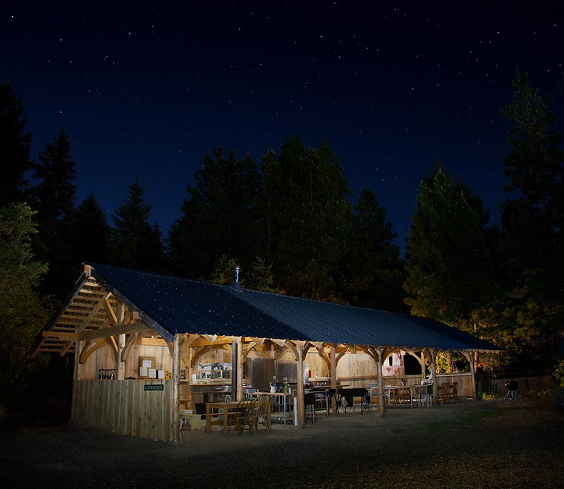Cookhouse At Night