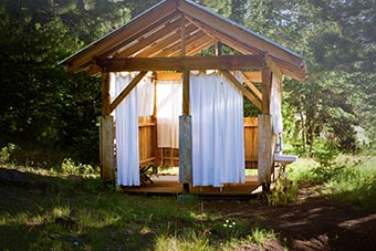 The Best Outdoor Showers