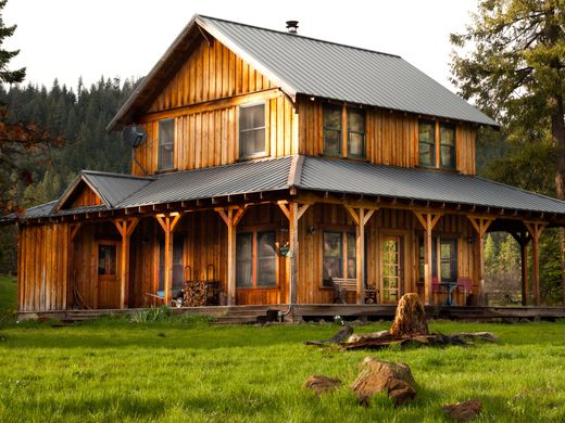 Willow-Witt Ranch farmhouse by Dave Baldwin